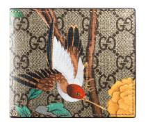 Faltbrieftasche mit Gucci Tian Print