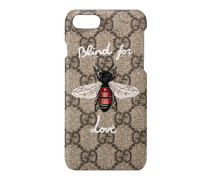 iPhone 7-Etui mit Bienen-Print