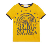 Kinder T-Shirt mit Zirkus-Print mit Tiger