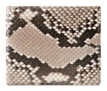 Brieftasche aus Pythonleder
