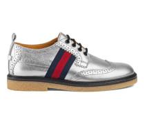 Kinder Brogue-Schuh aus Leder