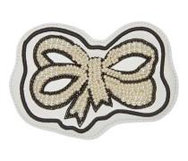 Schleifen-Stickerei Ace con Perlen