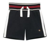 Baby Shorts aus Baumwolle mit Webdetail