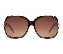 Sonnenbrille mit Marinakette und Kristall
