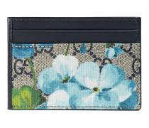 Fahrscheinetui mit GG und Blumen