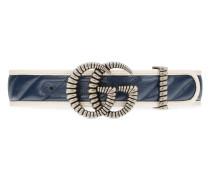 Gürtel mit Doppel G Schnalle im Torchon-Stil