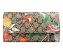 Lange Brieftasche mit Gucci Tian Print