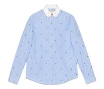 Duke Hemd aus Rosen Fil Coupé