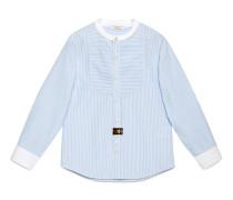 Kinder Hemd aus gestreifter Baumwolle
