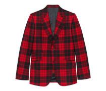 Anzug Heritage aus gewaschenem Stoff mit Schottenkaro