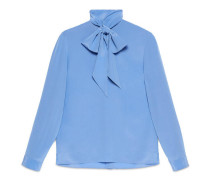 Cambridge-Hemd aus Seide mit Tuch
