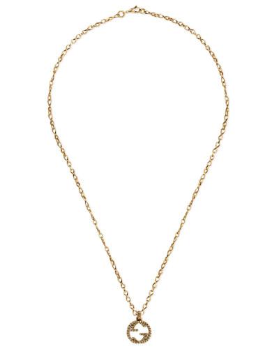 Halskette aus Gelbgold mit GG