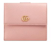 Brieftasche mit Überschlag aus Leder