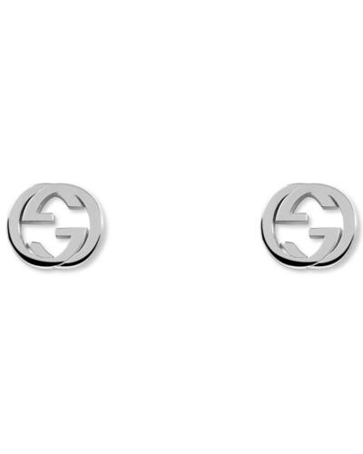 Ohrringe mit GG aus Silber