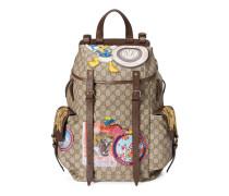 Rucksack aus weichem GG Supreme mit Patches