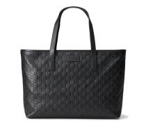 Shopper aus schwarzem Guccissima