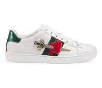 Ace Sneaker aus Leder mit Stickerei