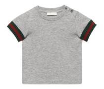 Baby T-Shirt aus Baumwolle mit Webdetail