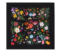 Halstuch mit Flora-Print.