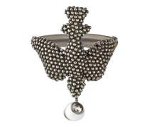 Ring aus Silber mit Vogelmotiv