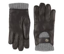 Herrenhandschuhe aus Leder und Kaschmir