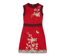 Kleid aus Baumwolljersey mit Bestickung