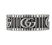 Doppel G Ring aus Silber