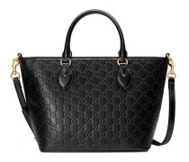 Shopper aus Gucci Signature Leder