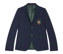 Cambridge Jacke aus Stretch-Twill im Stil der 70er
