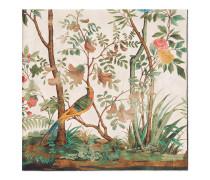Halstuch aus Seide mit Gucci Tian Print