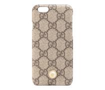 iPhone 6-Etui mit Nieten aus Perlmutt