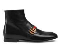 Stiefel aus Leder mit GG