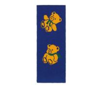 Schal aus Wolle mit Teddybären