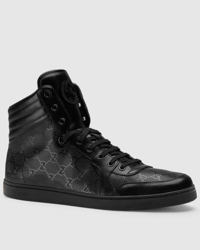 gucci herren sneaker 39 coda 39 mit hohem schaft und. Black Bedroom Furniture Sets. Home Design Ideas