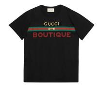 Übergroßes Herren-T-Shirt mit Boutique-Print
