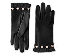 Handschuh aus Leder mit Nieten