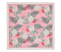 Halstuch aus Seide mit hawaiianischem Print