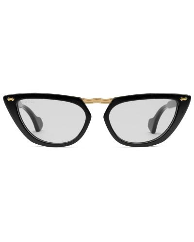 Brille aus Azetat in Katzenaugenform