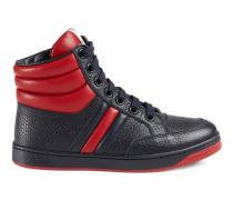 Kinder High-Top Sneaker aus Leder