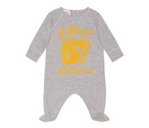 Baby Schlafanzug mit Tiger-Print