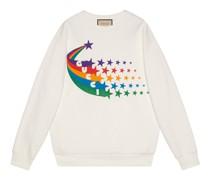 """Pullover aus Baumwolle mit """"Shooting Star""""-Print"""