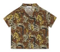 Baby Hemd mit Tigerstreifen-Print