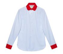 Hemd aus gestreifter Oxford-Baumwolle