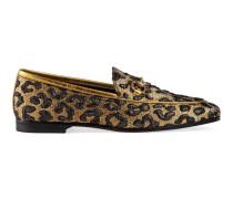 Halbschuh Gucci Jordaan aus Jacquard