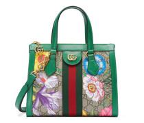 Exklusiv online* Kleiner Ophidia GG Shopper mit Flora-Print