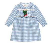 Baby Kleid aus karierter Wolle