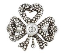 Ring aus Silber mit Glasperle