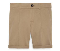 Children's cotton gabardine short