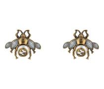 Bienen-Ohrringe mit Kristallen