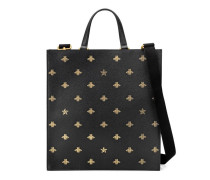 Shopper aus Leder Bee Star